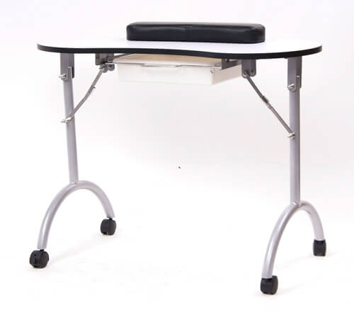 Salon equipment toronto products salon furniture depot for Folding nail technician table